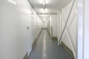 Inside a Titan Storage self storage facility