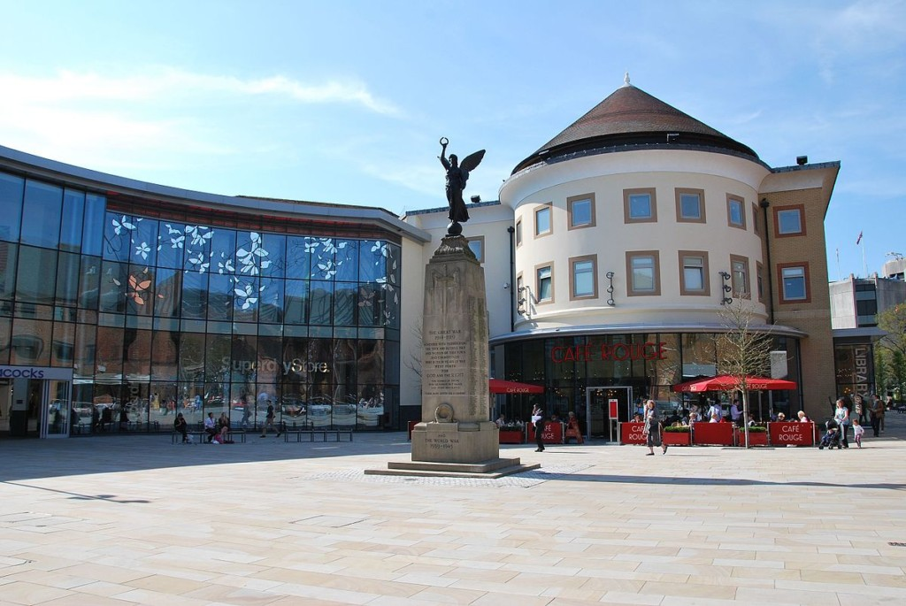 Woking Town Center 2018