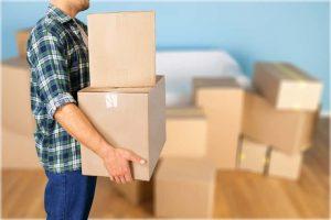 Cardboard box storage hacks