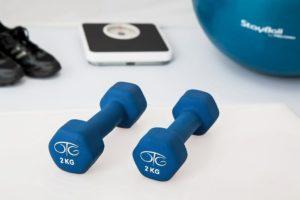 Personal gym using a storage unit