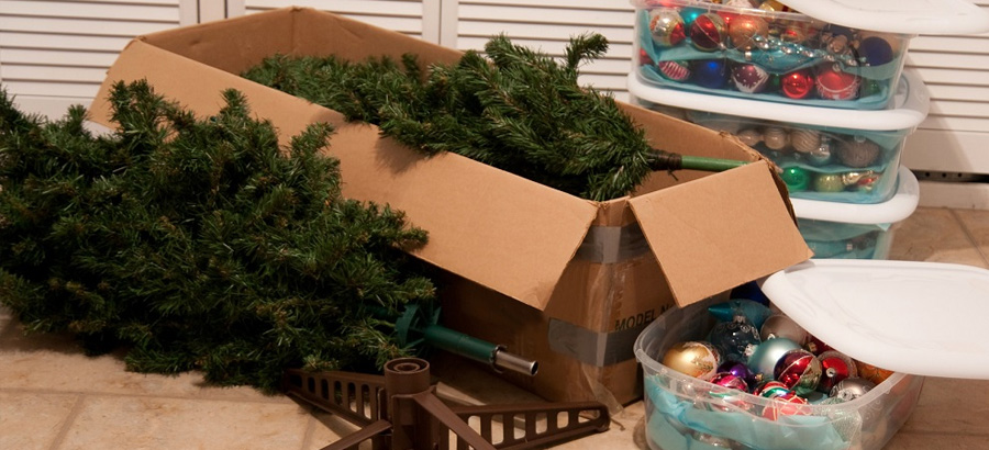Top tips for storing your Christmas decorations