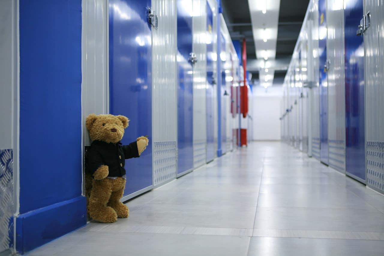self storage corridor